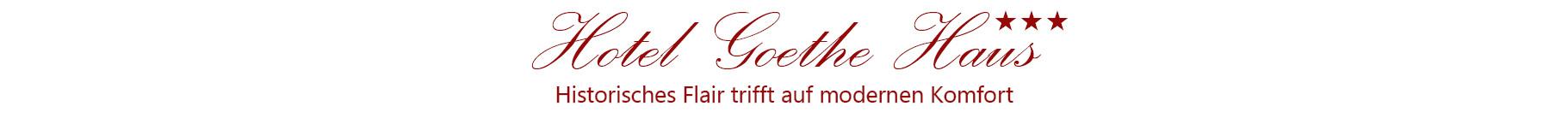 Hotel Goethe Haus Logo