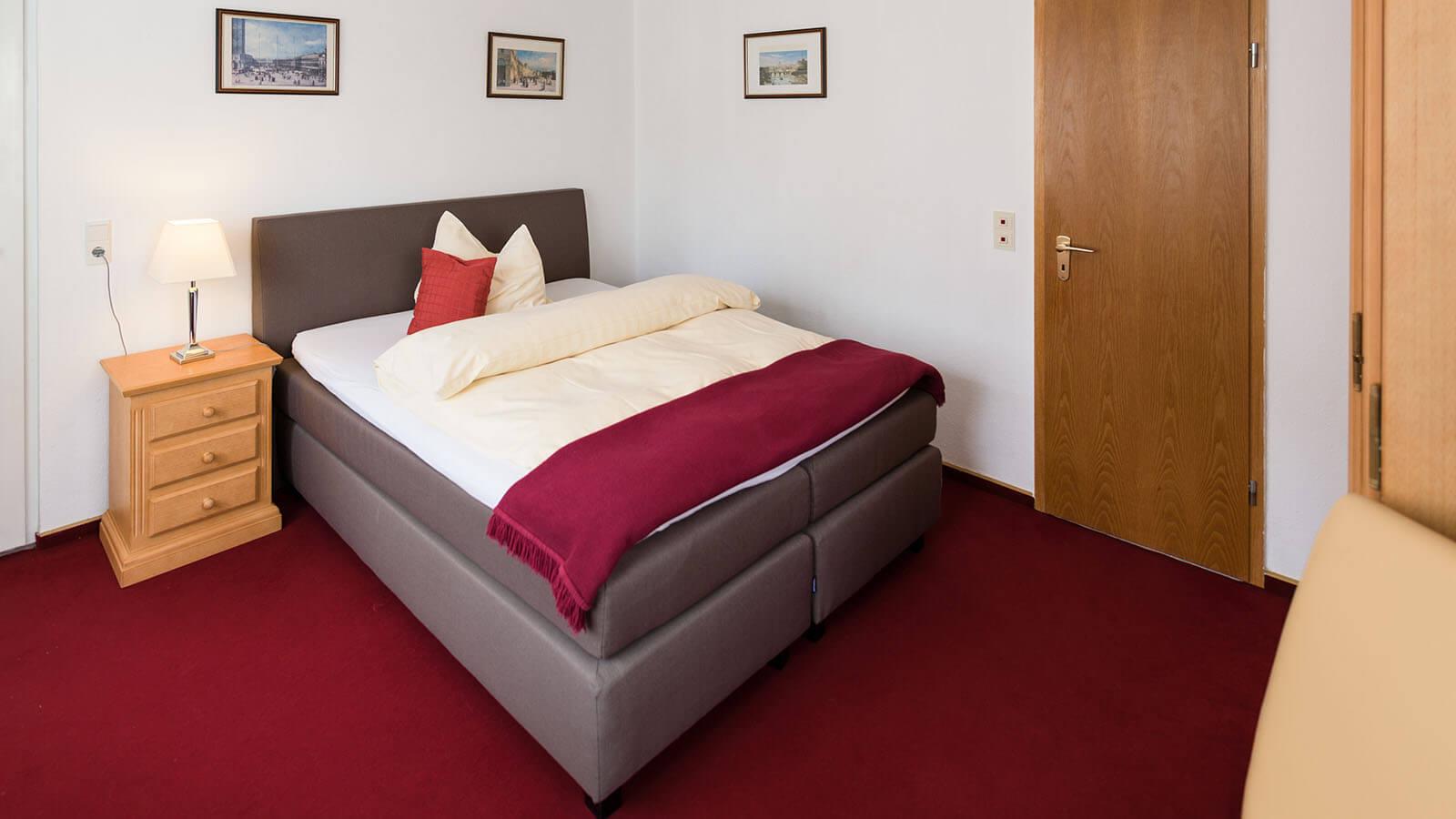 Einzelzimmer im Hotel Goethe Haus