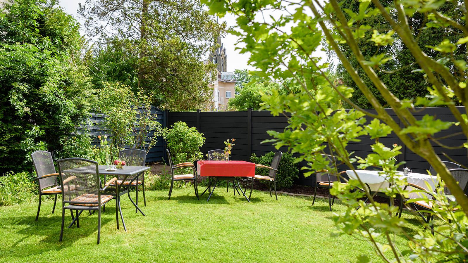 Garten im Hotel Goethe Haus